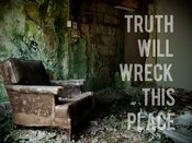 Image of truth wrecks.
