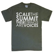 "Image of Army Green ""Their Strings Are Voices"" T-Shirt"