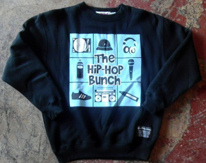 Image of HIP-HOP BUNCH CREW-NECK