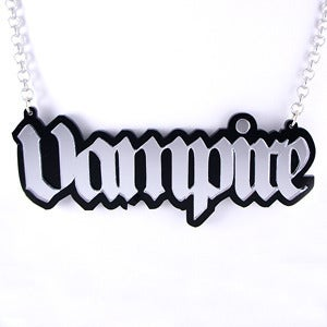Image of XL Vampire Necklace
