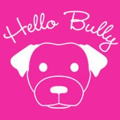 Image of Hello Bully Classic Logo Tee - Pink