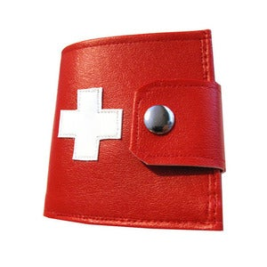 Image of Swiss ) Bifold Wallet with Snap (Plus Zipper)