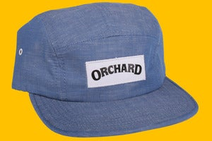 Image of Orchard 5 Panel Hat - Indigo Chambray
