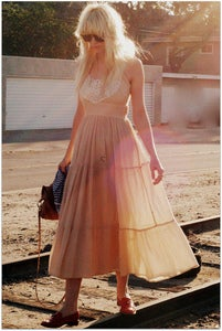 Image of Sweet Floaty Maxi Dress