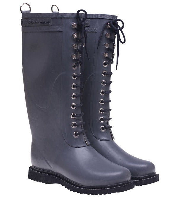 Image of Ilse Jacobsen Rubber Boots - Tall, Gray