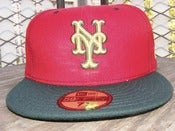 Image of New York Mets New Era Fitted Cap Size 7 5/8