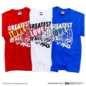 "Image of Filter017 limited project ""Share the Love"" ""Greatest Love Of All"" TEE"