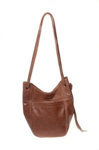 Image of SMALL LEATHER TOTE BAG