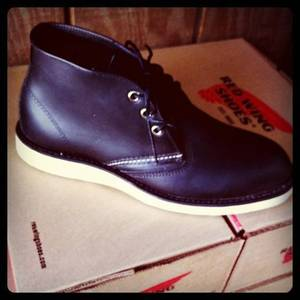 Image of Red Wing Chukka Blk Dixie Exclusive