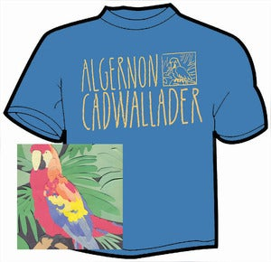Image of Algernon Cadwallader - Parrot Flies CD and t-shirt