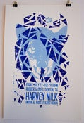 "Image of ""Neon Wolf"" Harvey Milk Screen Printed Poster"