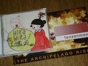 Image of Hira Hira / Little A - Split CD