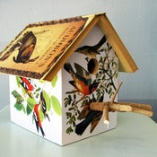 Image of Audubon Birdhouse by Wild Wings Literary Lodgings