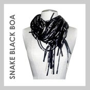 Image of SNAKE BLACK BOA