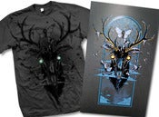 Image of Moth Eaten Deer Head - Poster/Shirt Package
