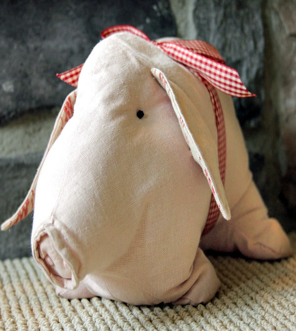 Image of Pink Cotton Pig