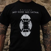 Image of NO GOD NO SATAN TSHIRT