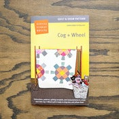 Image of Denyse Schmidt : Cog + Wheel : Quilt &amp; Sham Pattern