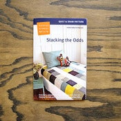 Image of Denyse Schmidt : Stacking the Odds : Quilt & Sham Pattern