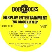 Image of EARPLAY ENTERTAINMENT &amp;#x27;96 BROOKLYN EP 