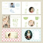 Image of Place Mats {Collection One} Templates