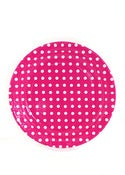 Image of Rasberry Dots Party Plates