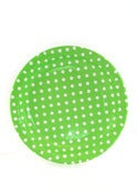 Image of Lime Dots Party Plates