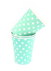 Image of Blue Dots Cups