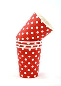 Image of Red Dots Party Cups