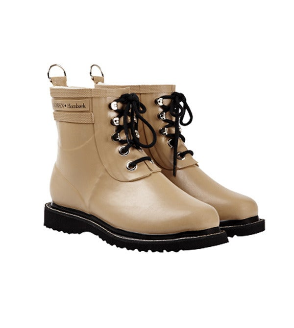 Image of Ilse Jacobsen Rubber Boots - Short, Camel