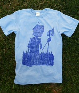 Image of Reluctant Woodsman Shirt Blue