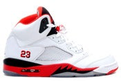 "Image of Air Jordan Retro 5 ""FIRE RED"""