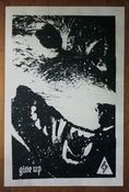 Image of 'wolf reign' print