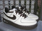 Image of Nike Air Force 1 Premium (Chocolate Bottoms) Size 9