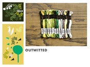 Image of Cosmo Embroidery Floss Palette : Outfoxed Collection : Outwitted