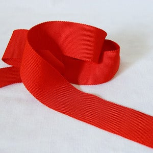 Image of Petersham Ribbon - Flame