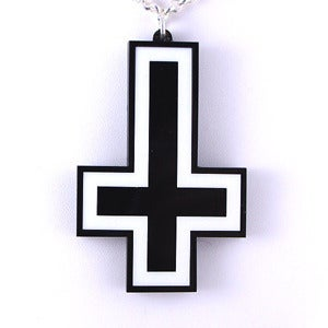 Image of Inverted Cross Necklace