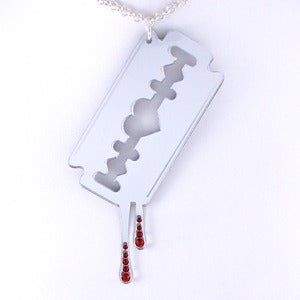 Image of XL Razor Blade Necklace