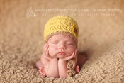 Image of Newborn Elegant Tie Hat