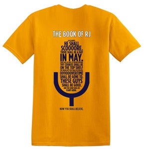 Image of The Book of RJ - Tee