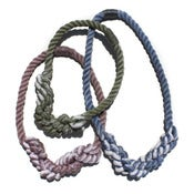 Image of Resist Cotton Rope Necklace