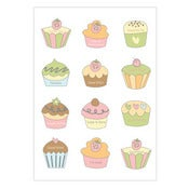 Image of Cupcake Stickers