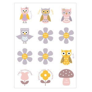 Image of Hoot Hoot Stickers