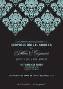 Image of Damask Invitation