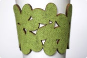 Image of cozy/cuff SNAP - light green