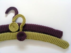 Image of Hand Knit Hanger Sets - pick your colour