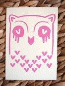 Image of Owl postcard set