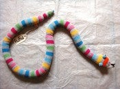 Image of Wool and cashmere toy snakes