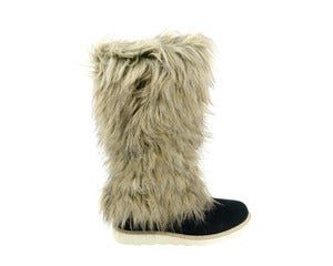 Image of nat-2 YETI HI black suede (W)
