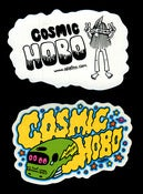 Image of 'Cosmic Hobo' Sticker